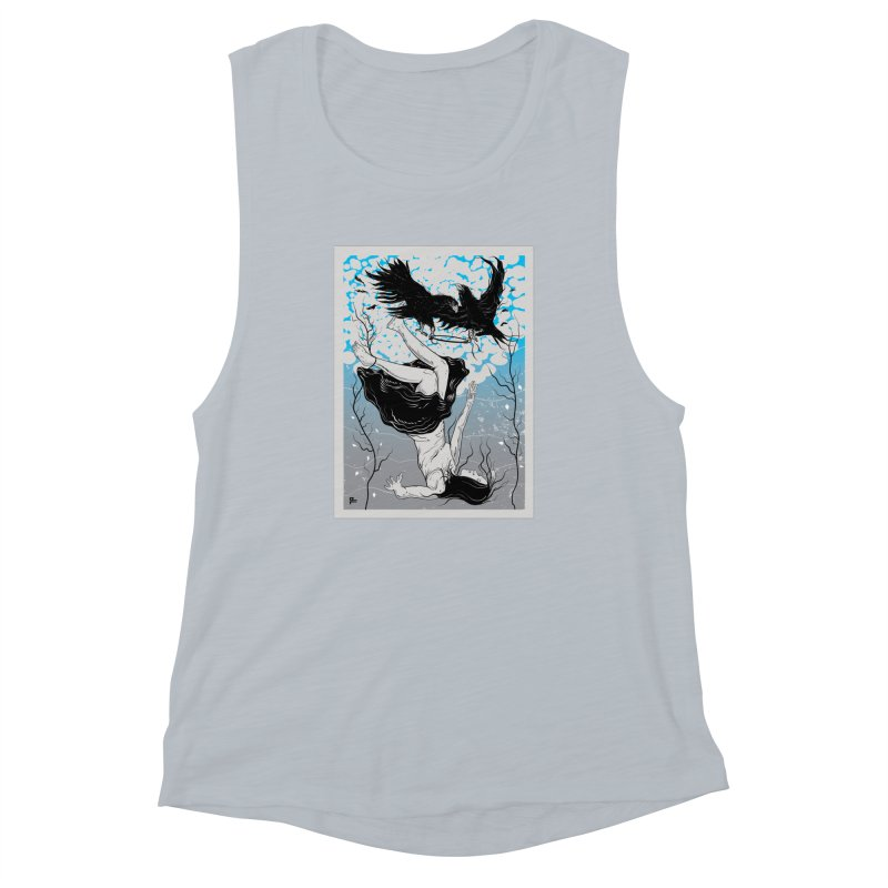 Stolen Halo Women's Muscle Tank by Stolen Halo the art of Rudy Flores