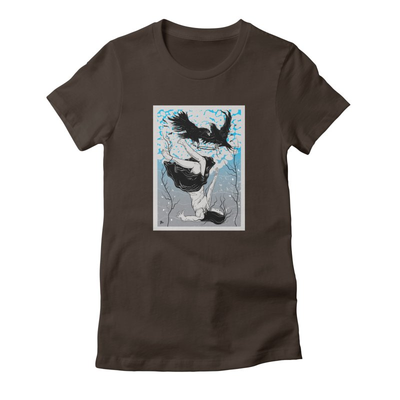 Stolen Halo Women's T-Shirt by Stolen Halo the art of Rudy Flores