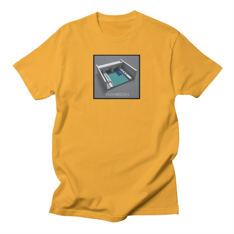 Monsoon Men's T-Shirt by Stolen Halo the art of Rudy Flores