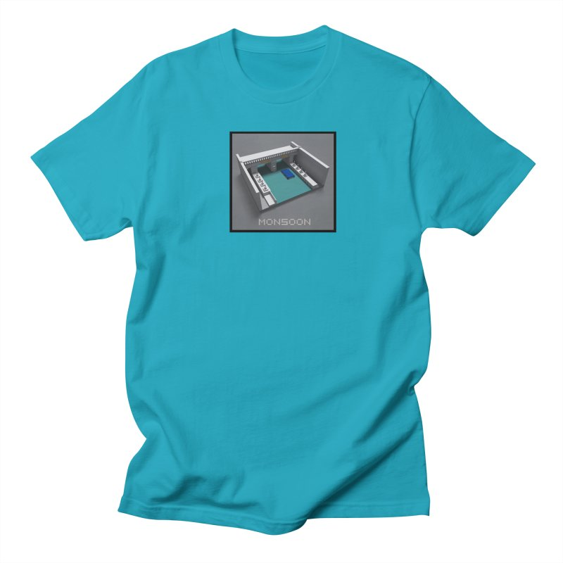 Monsoon Men's Regular T-Shirt by Stolen Halo the art of Rudy Flores
