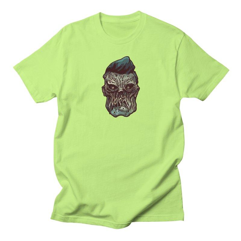 Bridge Burner Men's Regular T-Shirt by Stolen Halo the art of Rudy Flores