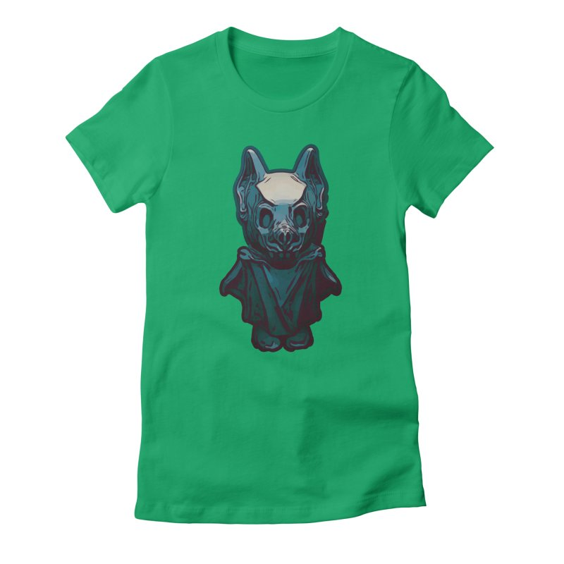 Bat Boy Women's Fitted T-Shirt by Stolen Halo the art of Rudy Flores