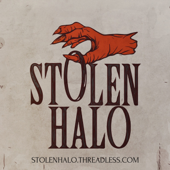 Stolen Halo the art of Rudy Flores Logo