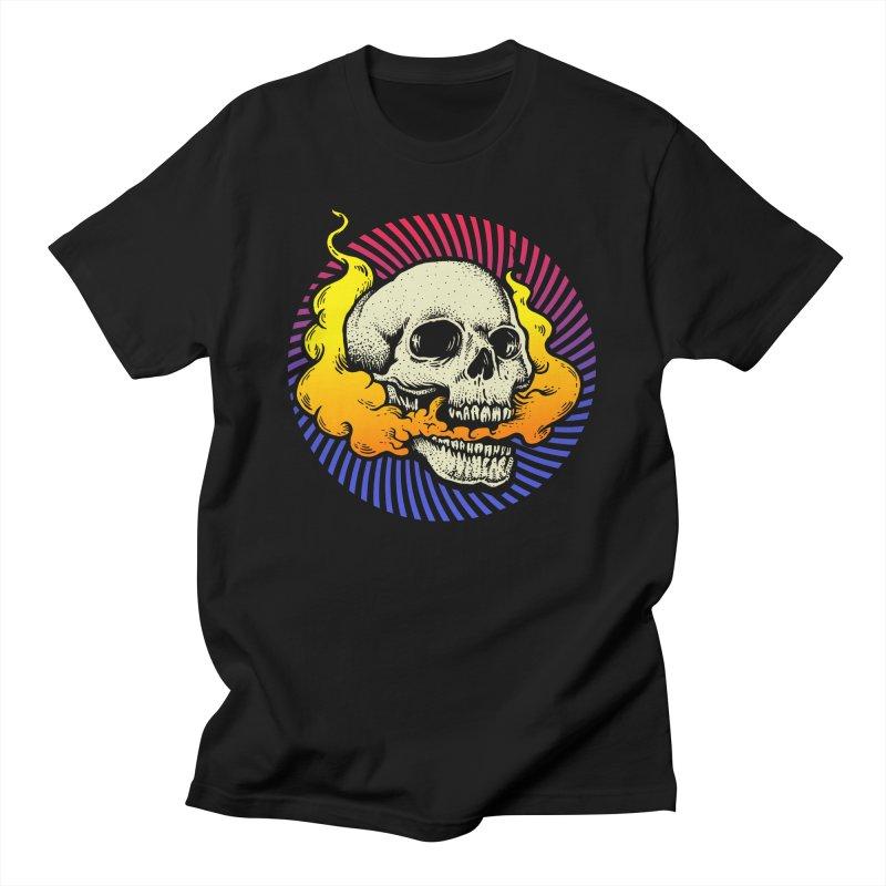 Smokin' Skull Women's T-Shirt by Stoner Graphics's Artist Shop