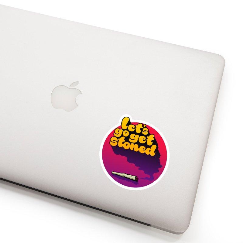 Let's Go Accessories Sticker by Stoner Graphics's Artist Shop