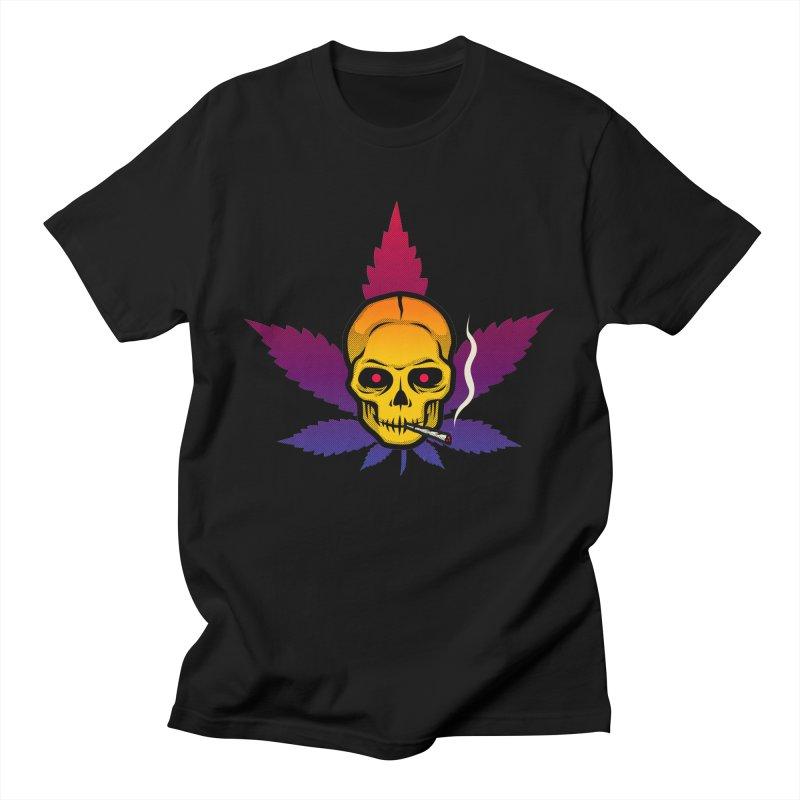 Leaf & Skull Women's T-Shirt by Stoner Graphics's Artist Shop