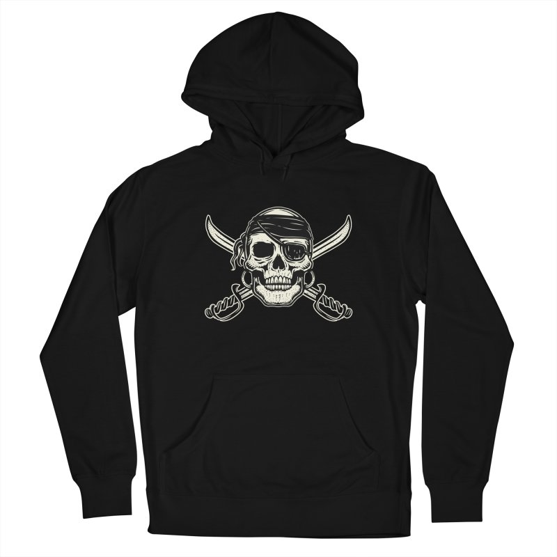 Pirate Skull Women's Pullover Hoody by Stoner Graphics's Artist Shop