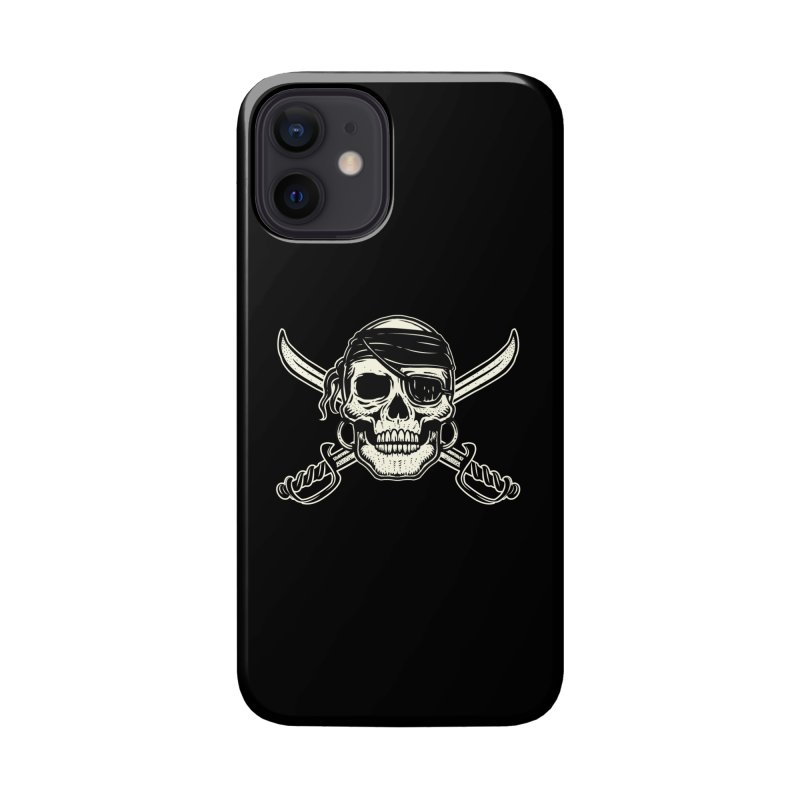Pirate Skull Accessories Phone Case by Stoner Graphics's Artist Shop