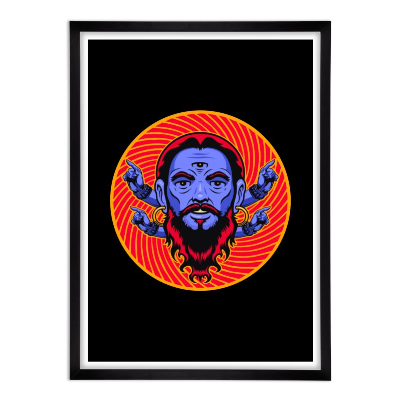 Third Eye Home Framed Fine Art Print by Stoner Graphics's Artist Shop