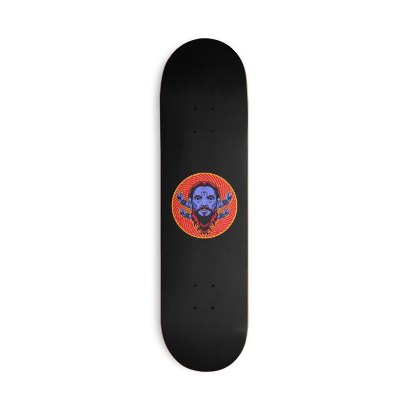 Third Eye Accessories Skateboard by Stoner Graphics's Artist Shop