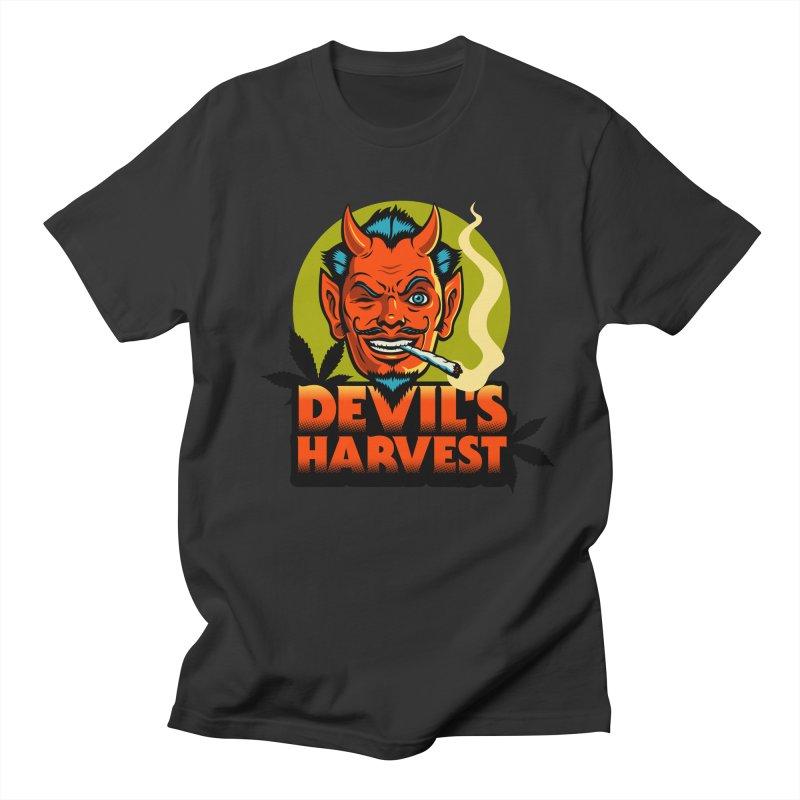 Devil's Harvest Men's T-Shirt by Stoner Graphics's Artist Shop