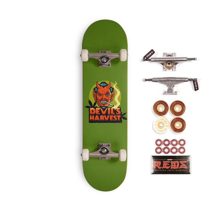 Devil's Harvest Accessories Skateboard by Stoner Graphics's Artist Shop