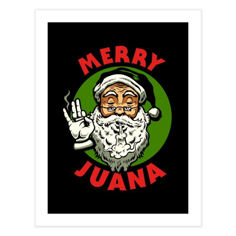 Merry Juana Home Fine Art Print by Stoner Graphics's Artist Shop
