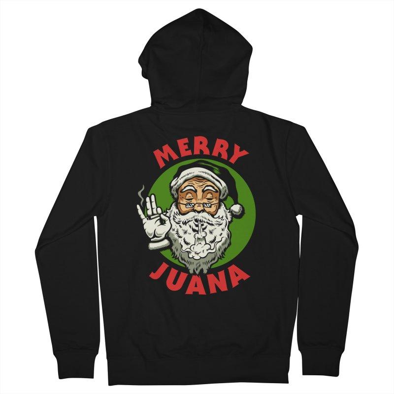 Merry Juana Men's Zip-Up Hoody by Stoner Graphics's Artist Shop