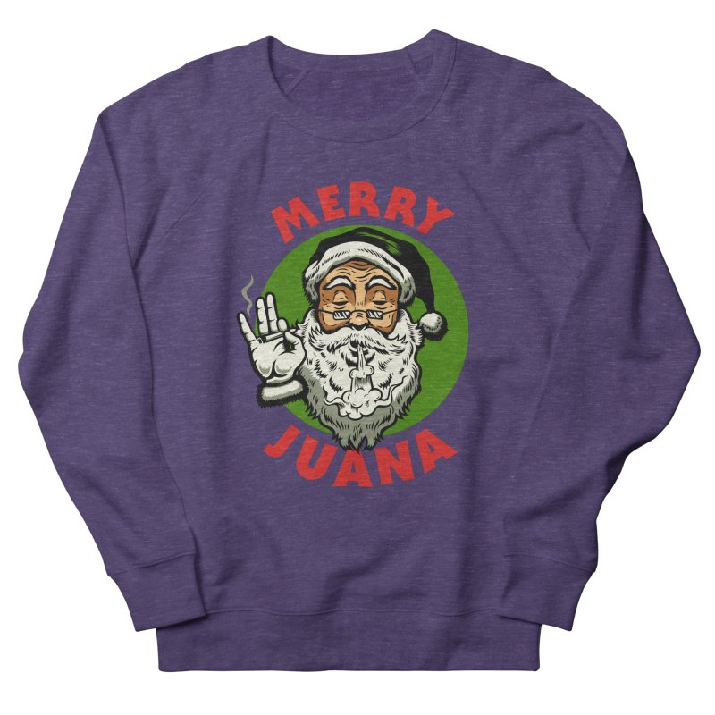 Merry Juana Men's Sweatshirt by Stoner Graphics's Artist Shop
