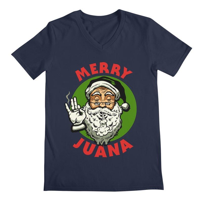 Merry Juana Men's V-Neck by Stoner Graphics's Artist Shop