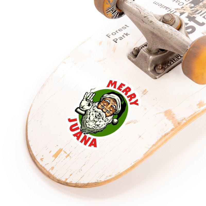 Merry Juana Accessories Sticker by Stoner Graphics's Artist Shop