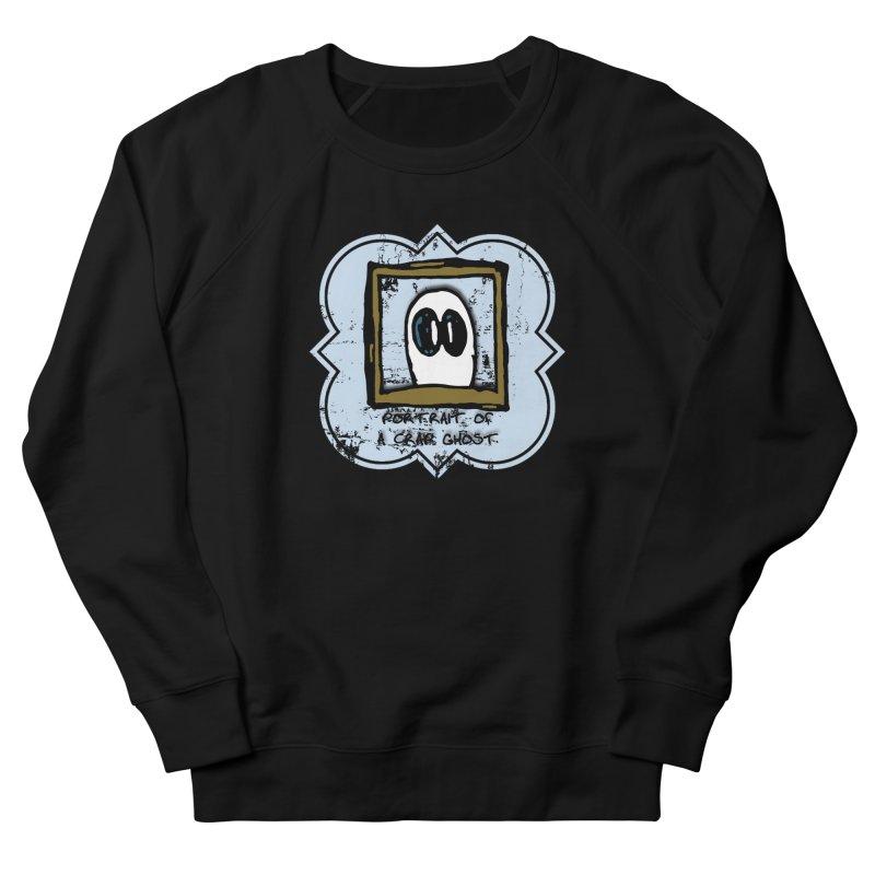 Portrait of a Crap Ghost Men's French Terry Sweatshirt by stonestreet's Artist Shop