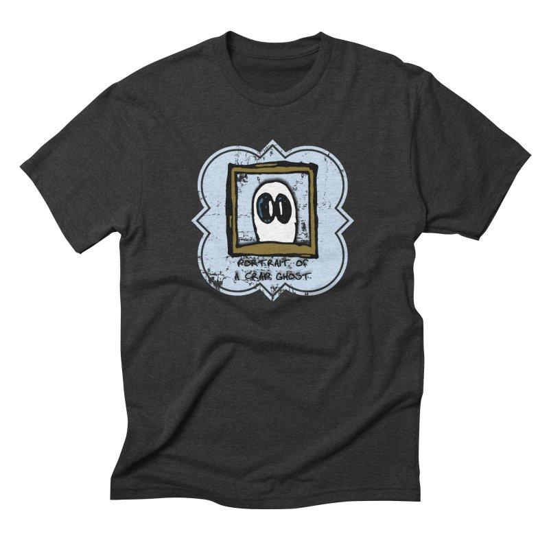 Portrait of a Crap Ghost Men's Triblend T-Shirt by stonestreet's Artist Shop