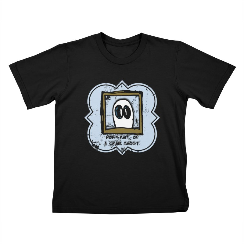 Portrait of a Crap Ghost Kids T-Shirt by stonestreet's Artist Shop