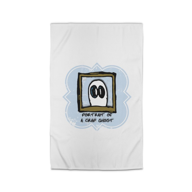 Portrait of a Crap Ghost Home Rug by stonestreet's Artist Shop