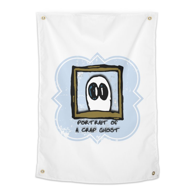Portrait of a Crap Ghost Home Tapestry by stonestreet's Artist Shop