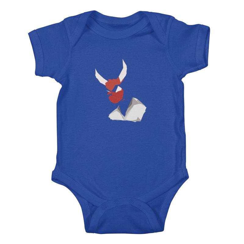 Beelzebobby Kids Baby Bodysuit by stonestreet's Artist Shop