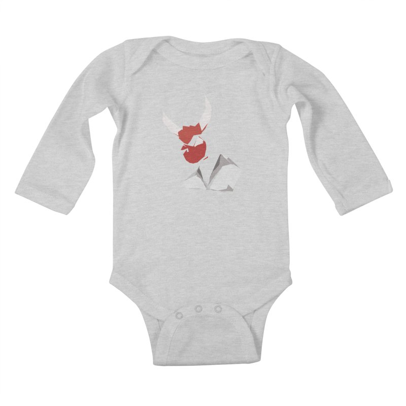 Beelzebobby Kids Baby Longsleeve Bodysuit by stonestreet's Artist Shop
