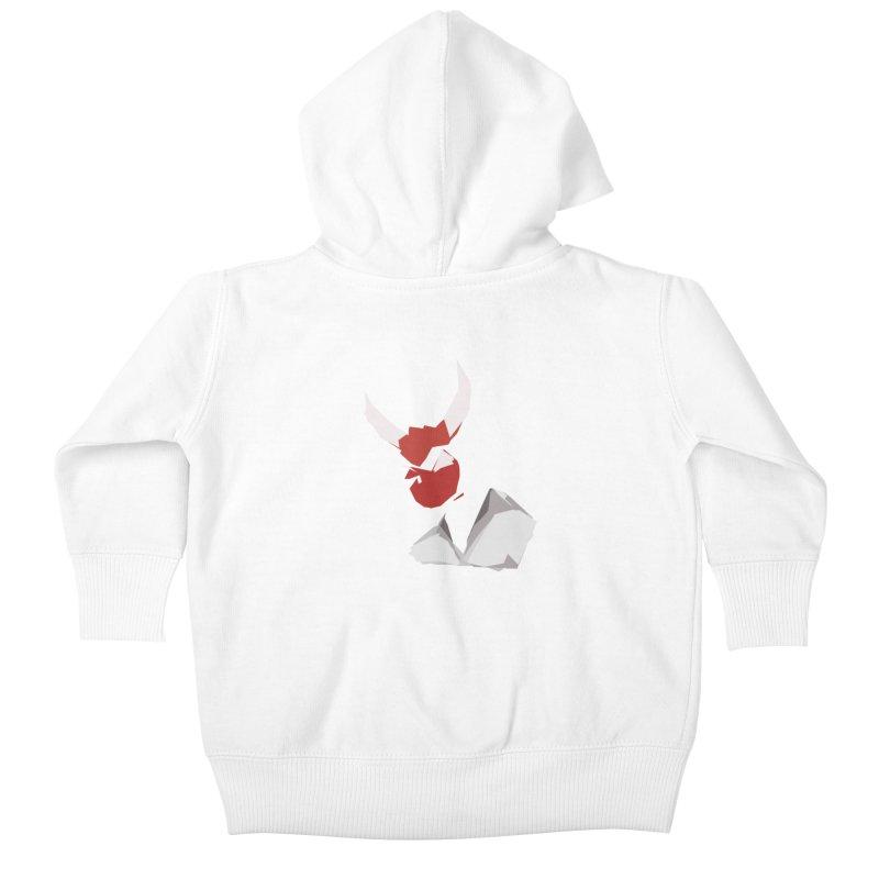 Beelzebobby Kids Baby Zip-Up Hoody by stonestreet's Artist Shop