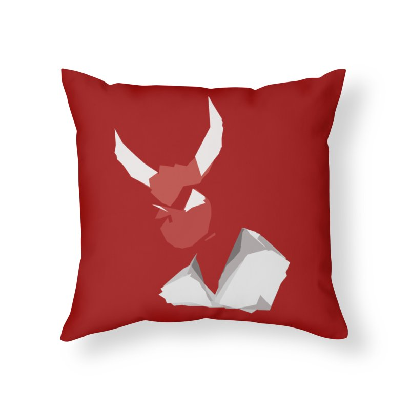 Beelzebobby Home Throw Pillow by stonestreet's Artist Shop