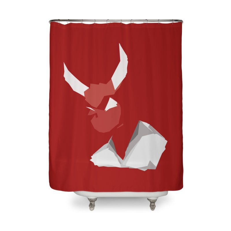 Beelzebobby Home Shower Curtain by stonestreet's Artist Shop