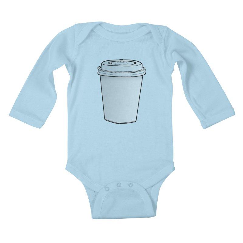 Take Away Kids Baby Longsleeve Bodysuit by stonestreet's Artist Shop