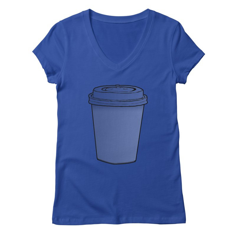 Take Away Women's Regular V-Neck by stonestreet's Artist Shop