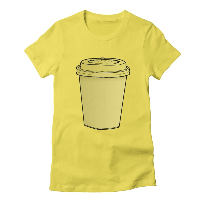 Take Away Women's Fitted T-Shirt by stonestreet's Artist Shop