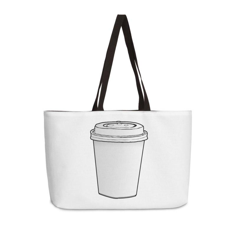 Take Away Accessories Weekender Bag Bag by stonestreet's Artist Shop
