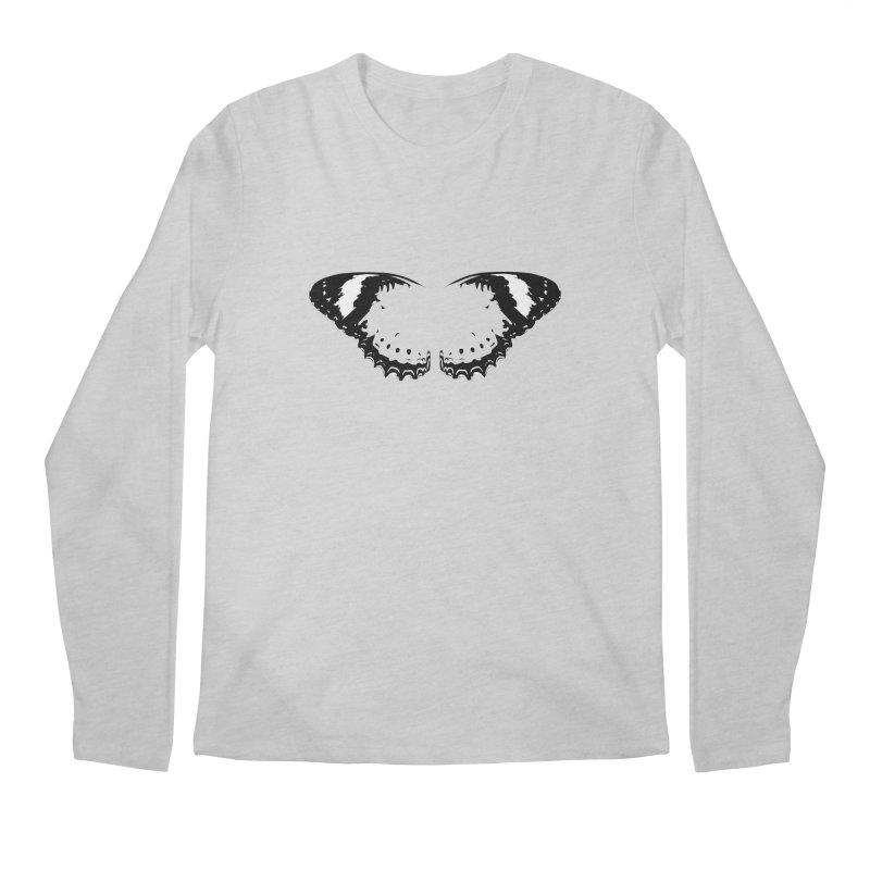 Tips of Butterfly Wings Men's Regular Longsleeve T-Shirt by stonestreet's Artist Shop
