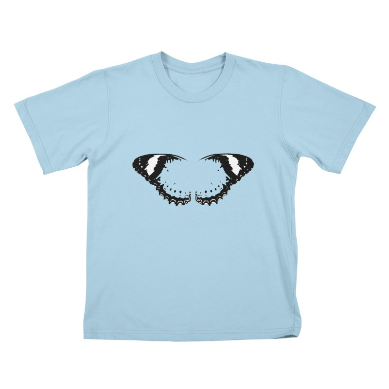 Tips of Butterfly Wings Kids T-Shirt by stonestreet's Artist Shop