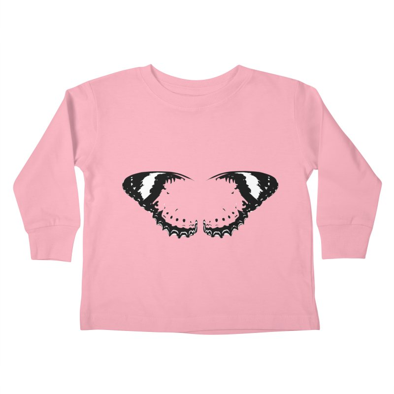 Tips of Butterfly Wings Kids Toddler Longsleeve T-Shirt by stonestreet's Artist Shop