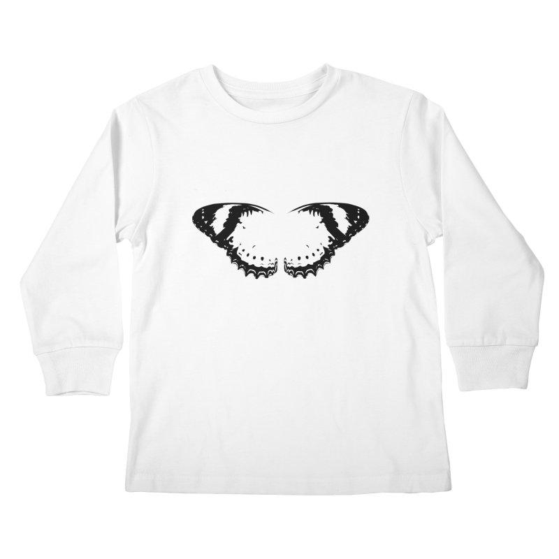 Tips of Butterfly Wings Kids Longsleeve T-Shirt by stonestreet's Artist Shop