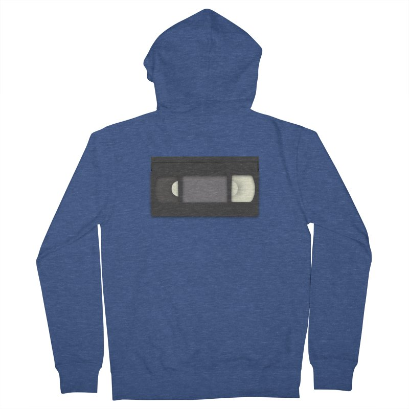VHS Women's French Terry Zip-Up Hoody by stonestreet's Artist Shop