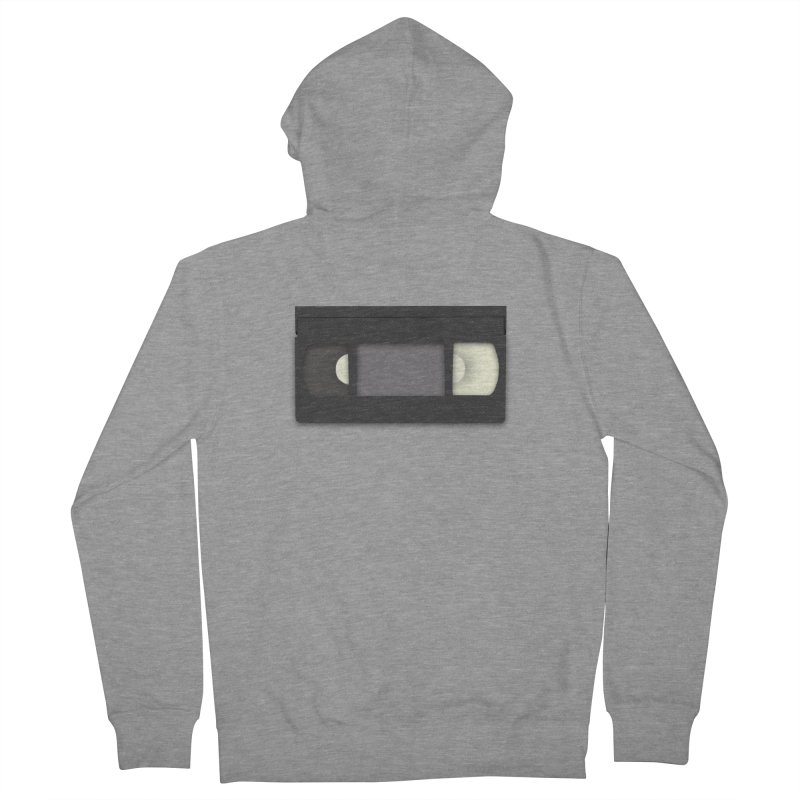 VHS Men's French Terry Zip-Up Hoody by stonestreet's Artist Shop