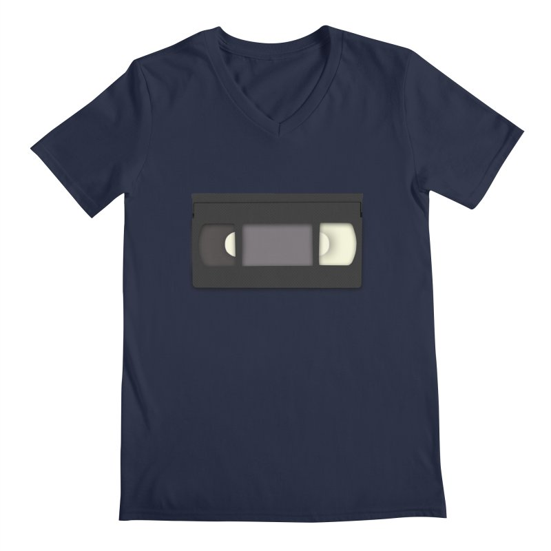 VHS Men's Regular V-Neck by stonestreet's Artist Shop