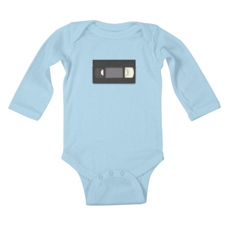VHS Kids Baby Longsleeve Bodysuit by stonestreet's Artist Shop