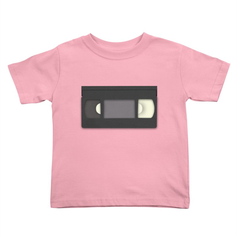 VHS Kids Toddler T-Shirt by stonestreet's Artist Shop