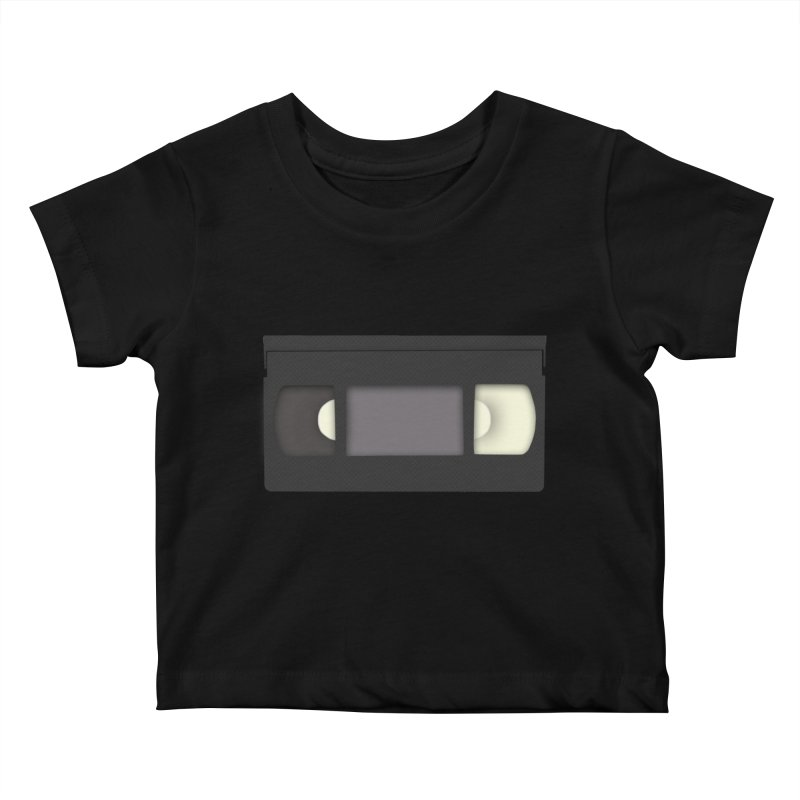 VHS Kids Baby T-Shirt by stonestreet's Artist Shop
