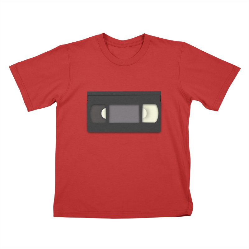 VHS Kids T-Shirt by stonestreet's Artist Shop