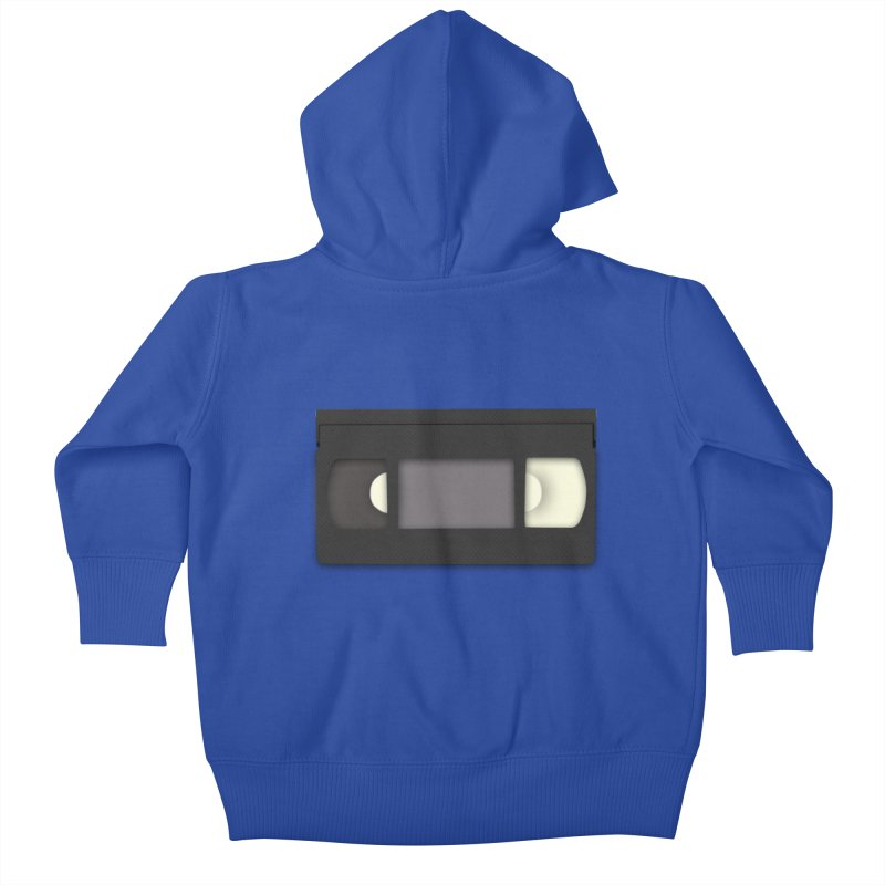 VHS Kids Baby Zip-Up Hoody by stonestreet's Artist Shop