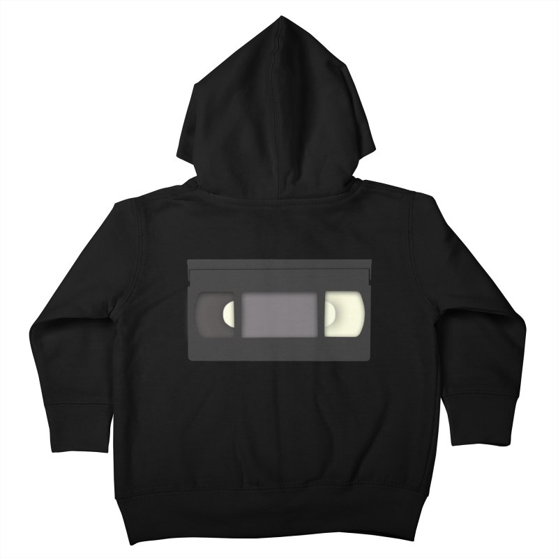 VHS Kids Toddler Zip-Up Hoody by stonestreet's Artist Shop