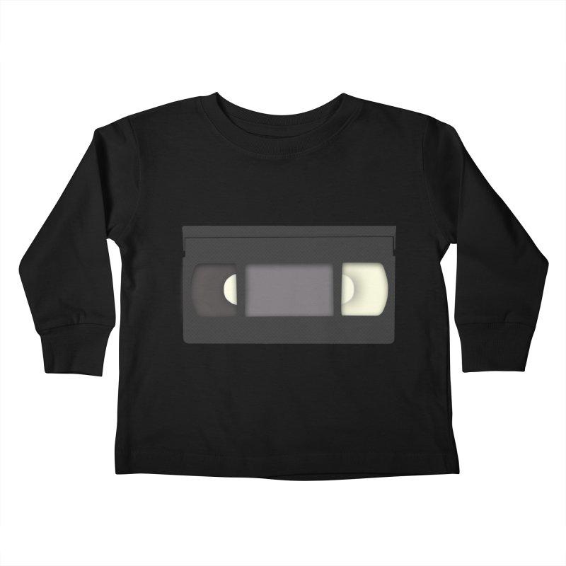 VHS Kids Toddler Longsleeve T-Shirt by stonestreet's Artist Shop