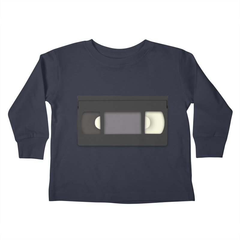 VHS Kids Toddler Longsleeve T-Shirt by stonestreet's Artist Shop